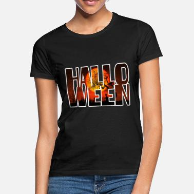 Graveyard Halloween Graveyard Blood Moon - Vrouwen T-shirt
