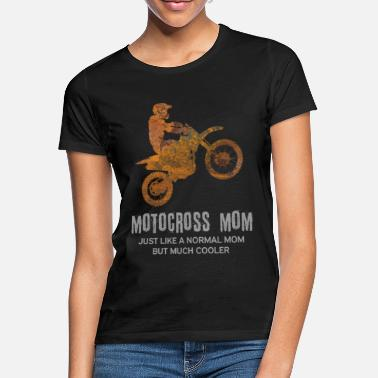 Motocross Mom Motocross - cool mom - Women's T-Shirt