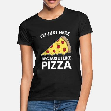 Workout Jeg kan lide at spise Pizza Funny Workout Gym Cardio Gave - T-shirt dame