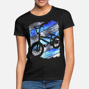 Grunge Bmx - BMX - bmx bike bike - BMX riding - Women's T-Shirt