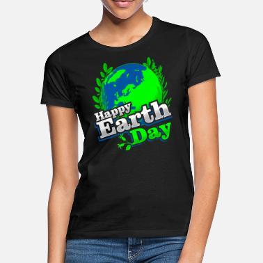 God jorddag - Grafisk design - T-shirt dam 5bfe3f31f4bed