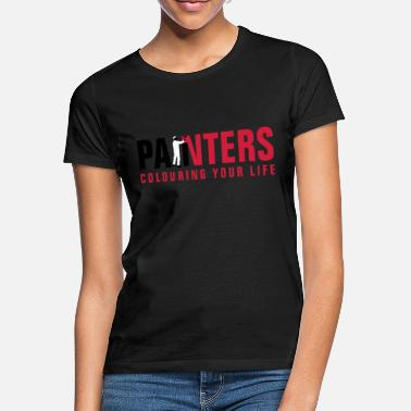 Image painters_062012_a_3c - Women's T-Shirt