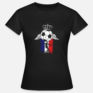Équipe Nationale Cadeau de l'équipe nationale de France de football - T-shirt Femme