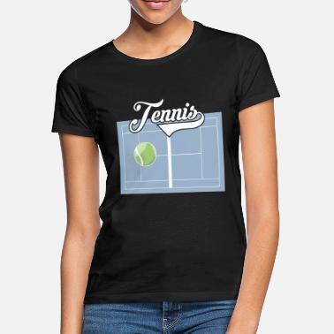 Tennis Court Tennis Club Tennis court - Women's T-Shirt