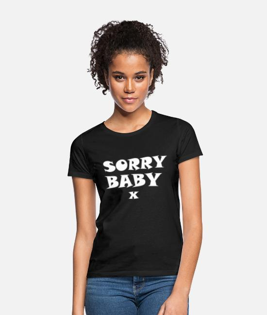 Daily T-Shirts - sorry baby killing eve 003 - Women's T-Shirt black