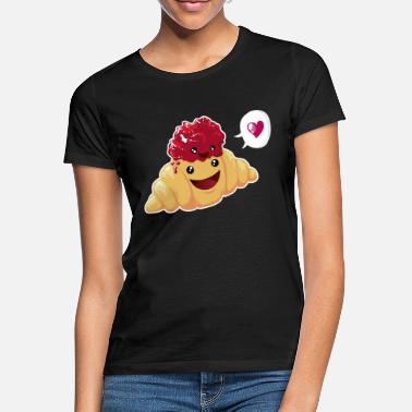 Food Croissant & Marmelade - Women's T-Shirt