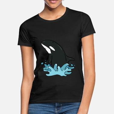 Grote Orka orka - Vrouwen T-shirt