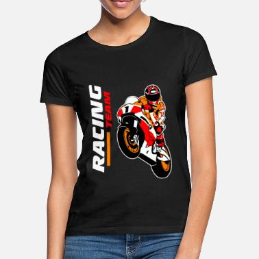Racing Motorcycles Motorcycle racing - racing motorcycle - Women's T-Shirt