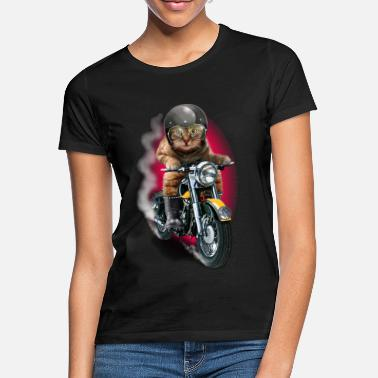 Collection CAT RIDER - T-shirt Femme