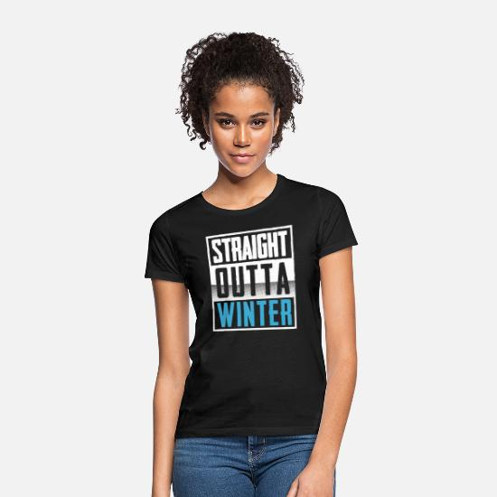 Gift Idea T-Shirts - winter - Women's T-Shirt black