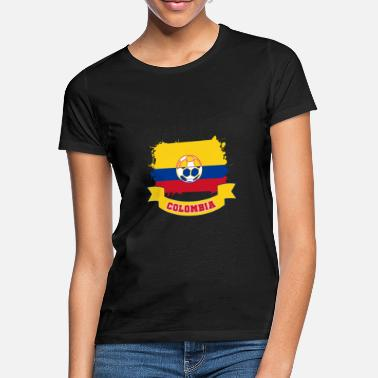 Colombia Fodbold colombia - T-shirt dame