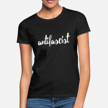 Antifascist antifascist red - Women's T-Shirt