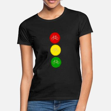 Light Traffic light bicycle bicycle traffic light - Women's T-Shirt