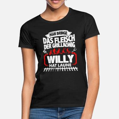 Feuer WILLY - Grill - Frauen T-Shirt