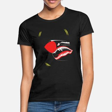 Mouth ZE SHARK MOUTH - Women's T-Shirt