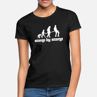 Stomp Stomp by Stomp (Vector) - T-shirt Femme