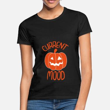 Current Events Halloween pumpkin Current mood - Women's T-Shirt