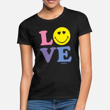 Love SmileyWorld LOVE - Women's T-Shirt