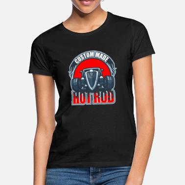 Hot Rod Hot Rod Car Tuning Gift Vintage Retro Usa - Maglietta donna