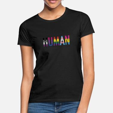 Binary Nonbinary LGBT Transgender T Shirt - Frauen T-Shirt