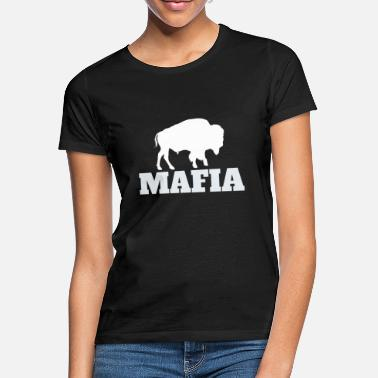 Buffalo Bills Maglietta mafiosa Bills, Camicia regalo Buffalo per fan, - Maglietta donna