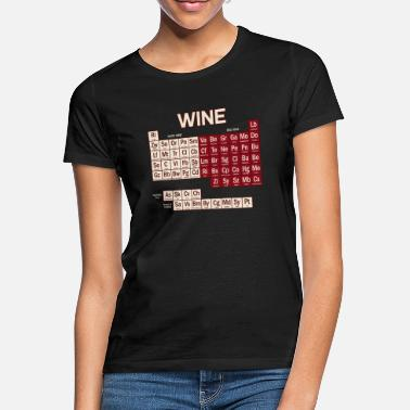 Geek Chemistry Periodic Table - Frauen T-Shirt