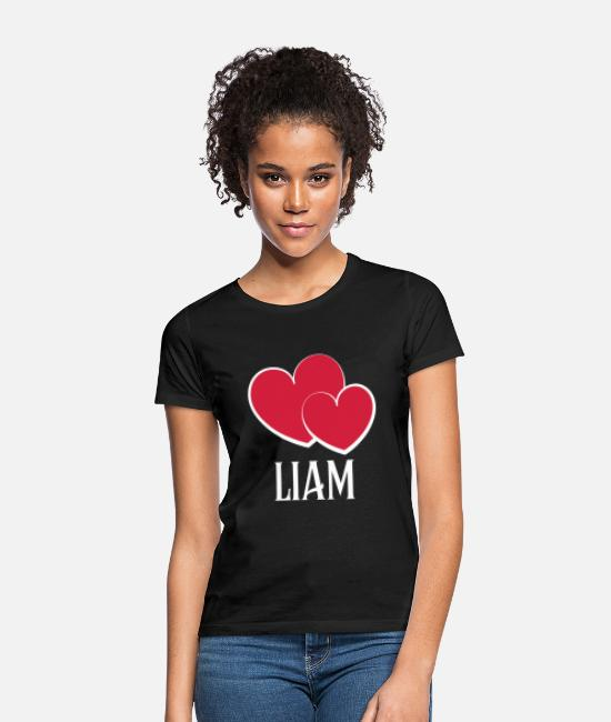 Birthday T-Shirts - Liam name cool gift - Women's T-Shirt black