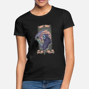 Occult Tarot Card Death XIII Witch Halloween Occult Occult - Women's T-Shirt
