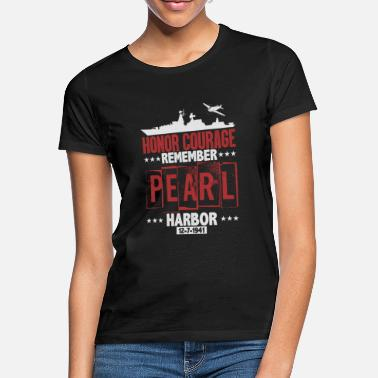 Harbour Remember Pearl Harbor - Women's T-Shirt
