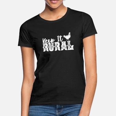 Rural Rural - Women's T-Shirt