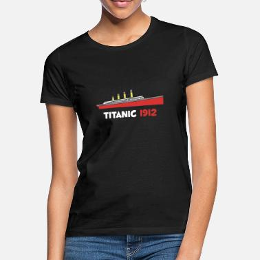 1912 Titanic 1912 Swim Tragedy Gift - Vrouwen T-shirt