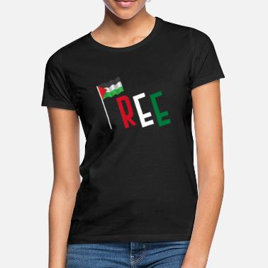 Freedom Palestine flag peace - Women's T-Shirt