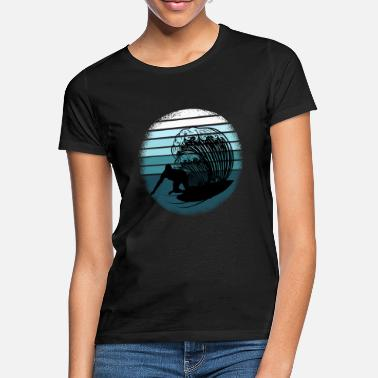 Surf Surf surfer surfing waves surfing - Women's T-Shirt
