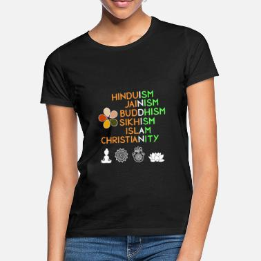 Yoga India Hinduism Buddhism - Women's T-Shirt