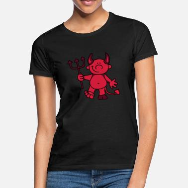 Devil Cute Cute devil - Women's T-Shirt