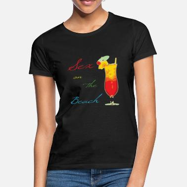 Sex On The Beach Cocktail Sex on the Beach - Vrouwen T-shirt