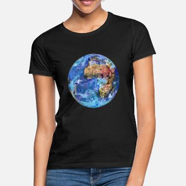 Planet Erde Planet Erde - Frauen T-Shirt
