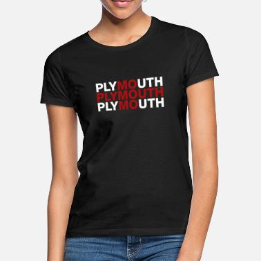 Plymouth Plymouth United Kingdom Flag Shirt - Plymouth - Women's T-Shirt
