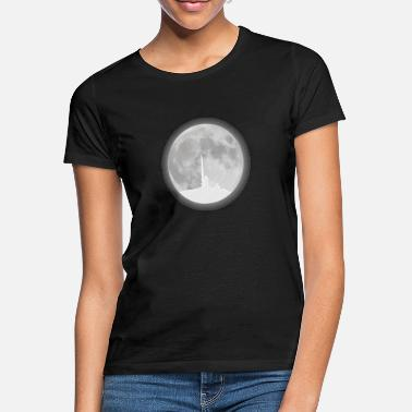Resin Chunk full moon resin - Women's T-Shirt