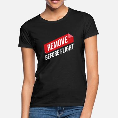 Hermanos Retire la idea de regalo Before Flight Pilot - Camiseta mujer