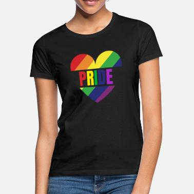 Gay Pride Love Gay CSD Rainbow Gay - Naisten t-paita
