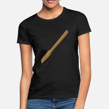 Scoop wooden scoop for polenta - Women's T-Shirt