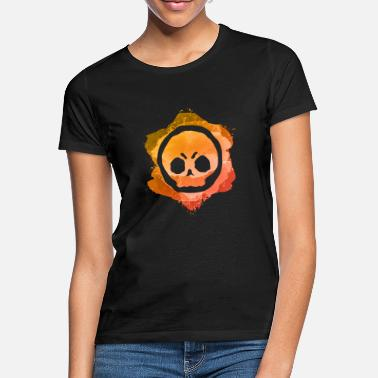 Brawl Star 00129 Logo Brawl Brawler Stars Gamer Gaming - Camiseta mujer