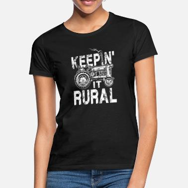Rural Keepin it rural - Women's T-Shirt