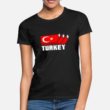 Turkish Flag Turkey / Turkish flag / Gift / Istanbul - Women's T-Shirt