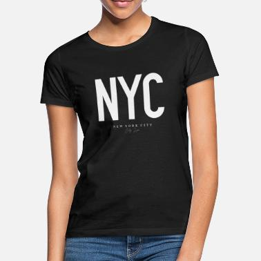 New New York - T-shirt dame