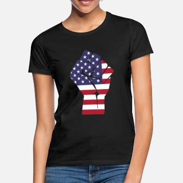 World Trade Center fist usa - Frauen T-Shirt