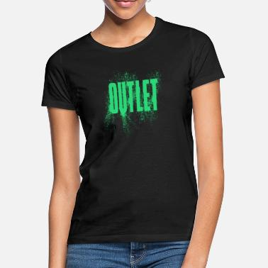 Outlet Outlet - T-shirt dame