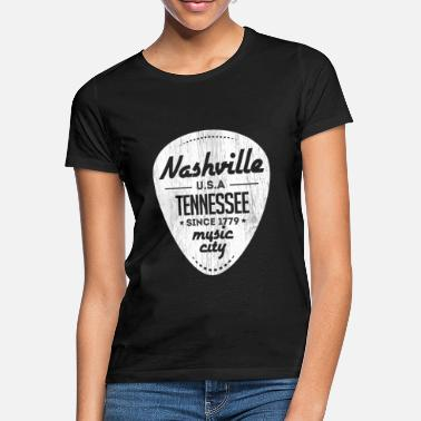 Tennessee Nashville Country Musik USA Tennessee Geschenk - Frauen T-Shirt