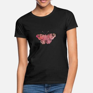 Pink nice shirt butterfly pink vintage - Women's T-Shirt